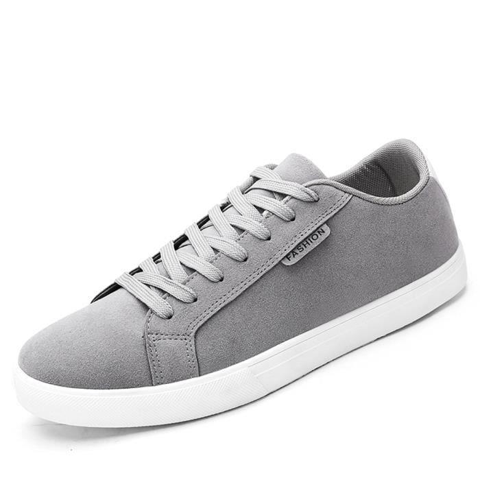 chaussure mode Haut hommes anti Confortable glissement qualité chaussures homme Plus plates de personnalité Sneaker loisirs HSPwCg