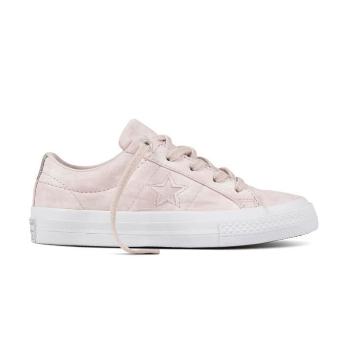 CONVERSE, One star ox, Barely rosebarely rosewhite