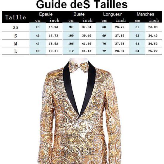 La D'or Mode Homme Tendance Costume Slim Veste Masculin Vêtement Fête Brillant De Marque Morceau ZRT6qCz6n