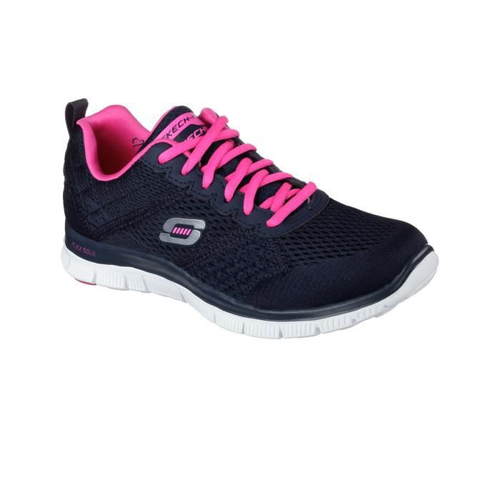 Navy Obvious Appeal Choice W Flex Skechers Chaussures I8Tfxaq