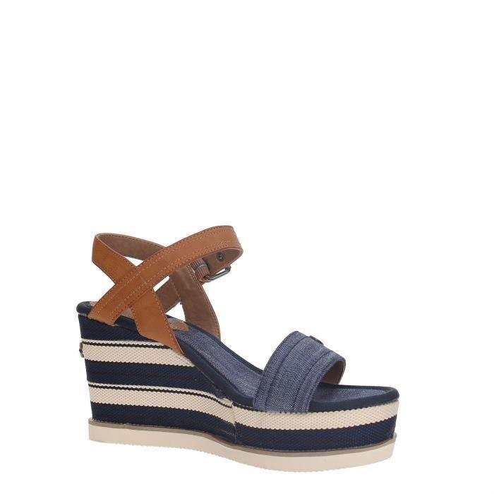 Wrangler Chaussures Compensées Femme BLUE, 41