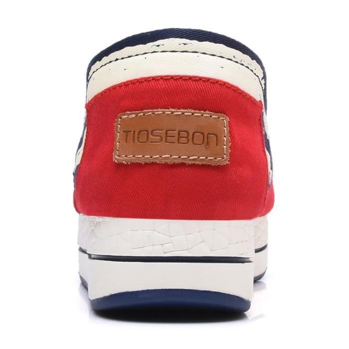 Toile Slip-on Tonique chaussures de marche espadrille W8LG2 Taille-36 eONuLOWPns