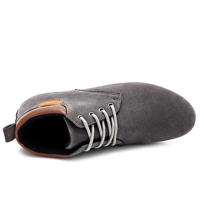Chaussures En Toile Hommes Basses Quatre Saisons Populaire BBZH-XZ116Gris41 4hVxMS0E