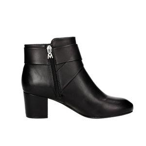 Xti - Boot haut talon noir canne -Hauteur: 5cm- Femme yaOoAkG0NZ