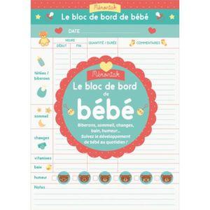 BLOC NOTE Le bloc de bord de bébé. Edition 2020