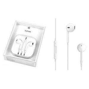 OREILLETTE BLUETOOTH Kit piéton earpods blanc avec commande et micro
