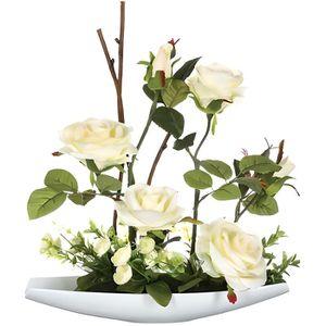 composition fleurs artificielles achat vente. Black Bedroom Furniture Sets. Home Design Ideas