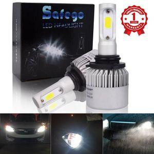 81387a962d PAUPIERE DE PHARE Safego 2x 9006 HB4 LED Phare Kit de conversion Amp