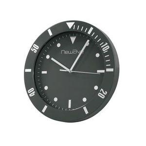 HORLOGE - PENDULE Horloge murale style montre noir