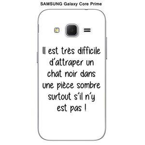 coque galaxy core prime chat