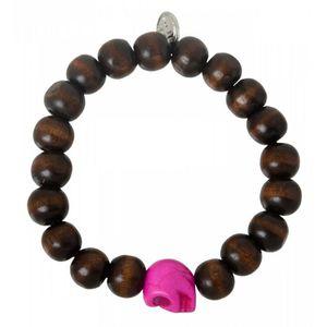 bracelet femme bois