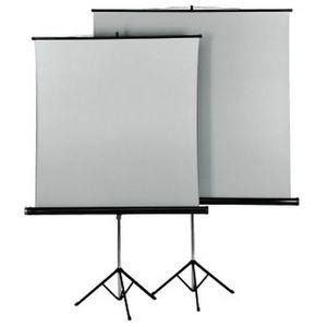 DIAPOSITIVES HAMA-Ecran de projection sur pied 155 x 155 cm, Du