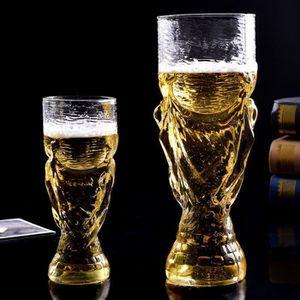 Verre à bière - Cidre chope à bière en verre coupe du monde 850ml
