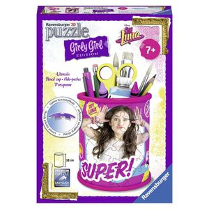 PUZZLE SOY LUNA GIRLY GIRL Pot à crayons (Puzzle 3D)