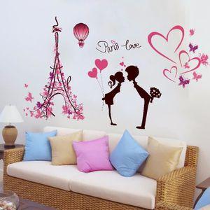 stickers tempsa sticker mural amour paris tour eiffel art a