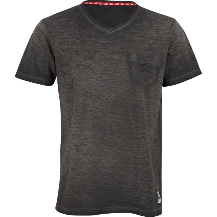UP2GLIDE T-shirt Freddy - Homme - Gris anthracite