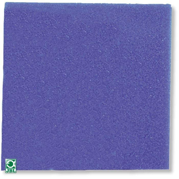 JBL Carré de mousse bleu gros - Pour aquarium - 50x50x5cm