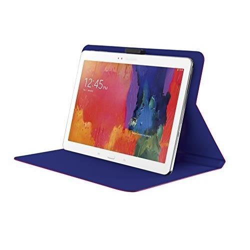 """TRUST Aeroo Étui Folio Univ pour Tablette 10"""" - Rose et bleu"""