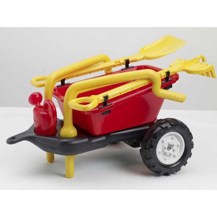 Remorque pour tracteur enfant achat vente jeux et - Remorque tracteur enfant ...
