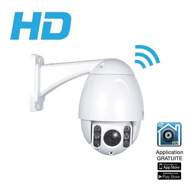 Heden CAMHD05MD0 Camera de surveillance avec 6 LEDs Blanc - Prix pas ... 7f56a2b96ff5