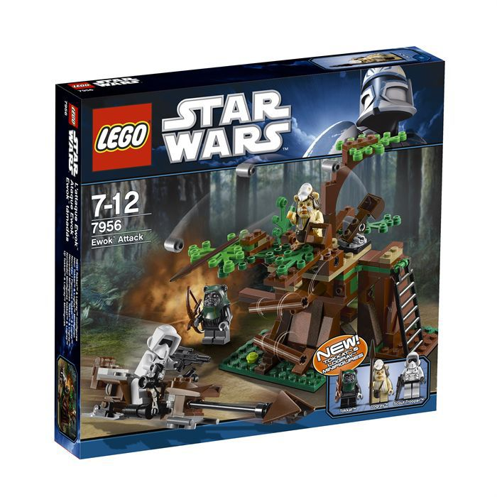 lego l 39 attaque ewok achat vente assemblage construction cdiscount. Black Bedroom Furniture Sets. Home Design Ideas