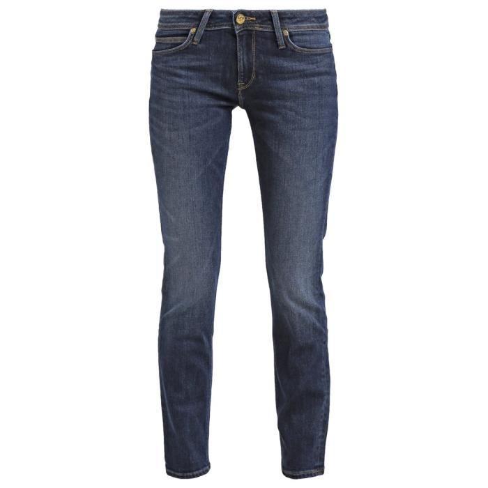 92593c8e Jean coupe droite femme LEE modèle Emlyn Marron jean - Achat / Vente ...