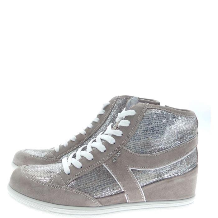 Igi&co Sneakers Femme Mink/bronze