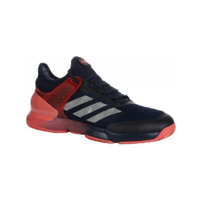 new style 73085 fc63d Chaussures ADIDAS Homme Adizero Ubersonic 2 Clay Roland Garros Indigo PE  2018