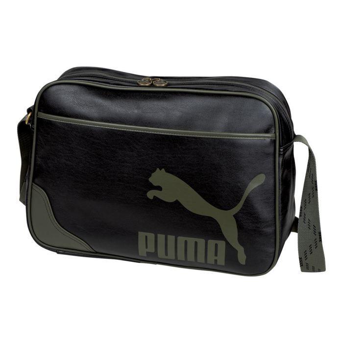 a49b1e9962 Sac bandoulière Puma Originals R… Noir - Achat / Vente besace - sac ...