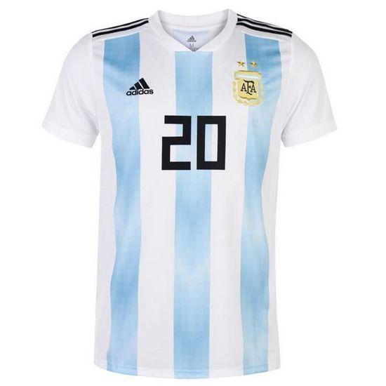 Maillot Nouveau Aguero Homme Officiel Argentine Flocage Adidas RSHqwdS