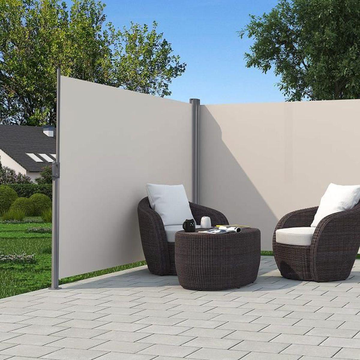 paravent ext rieur r tractable achat vente paravent. Black Bedroom Furniture Sets. Home Design Ideas