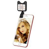 OBJECTIF POUR TELEPHONE Anneau lumineu Selfie noir pour iPhone, Samsung, H