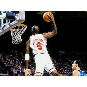 AFFICHE - POSTER Affiche photo Michael Jordan dunk (Dimensions : 21