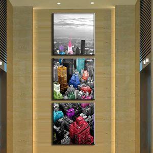 Tableau deco verticale achat vente tableau deco for Decoration murale new york