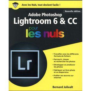 LIVRE TVCOMMUNICATION Livre - Adobe Photoshop Lightroom 6 & CC pour les