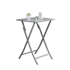Petite table de jardin achat vente pas cher for Table pliante 2 personnes