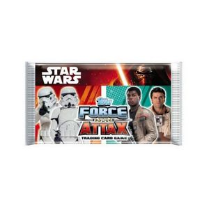 CARTE A COLLECTIONNER Star Wars - Booster Force Attax - Carte à Collecti