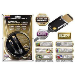 CÂBLE TV - VIDÉO - SON Monster MN140472 - CABLES HDMI -  Câble HDMI 1200H