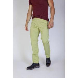 JEANS Jaggy Vert Pantalons Nouveau