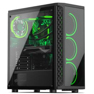 UNITÉ CENTRALE  PC Gamer, Intel i7, GTX 1060, 500 Go SSD, 2 To HDD