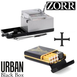 MACHINE À TUBER Tubeuse Zorr Powermatic 2 + Etui à cigarette Urban