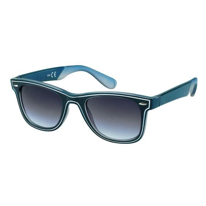 Lunettes bimatières vintage class BB style 3093 bleu