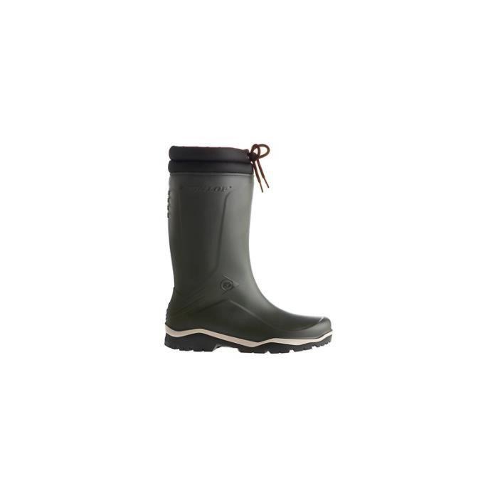 Bottes de sécurité hiver Dunlop Blizzard,Taille 47, vert