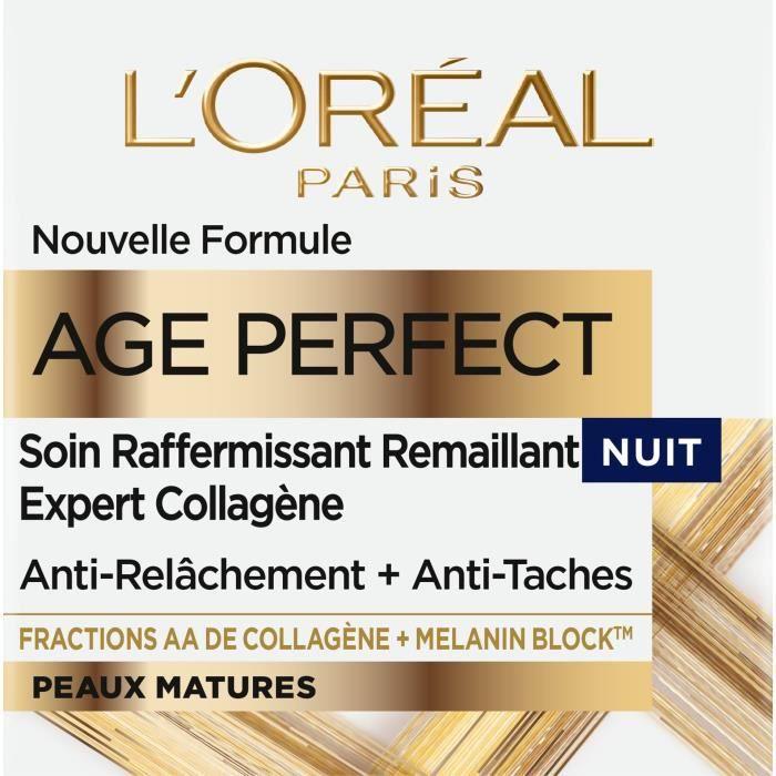 ANTI-ÂGE - ANTI-RIDE L'ORÉAL PARIS - Age Perfect Soin Réhydratant Anti-