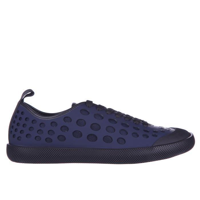 BASKET Chaussures baskets sneakers homme en cuir Prada
