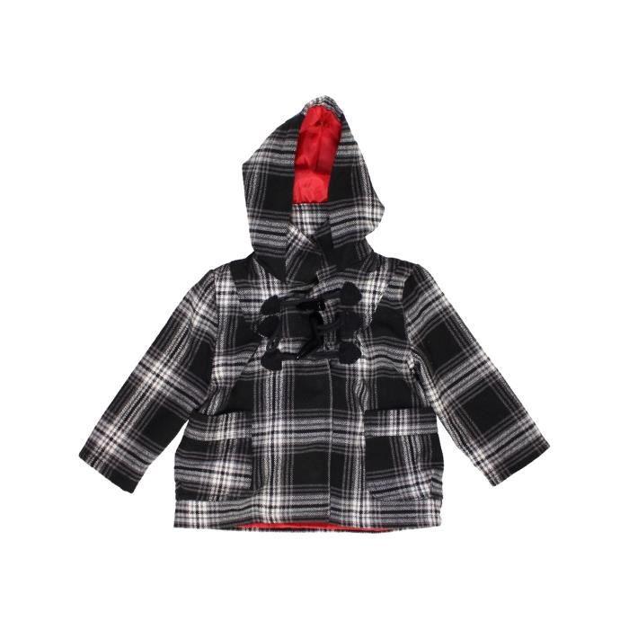 3 3 3 Vêtement 1054008 Enfant Bébé Hiver Manteau Manteau Manteau Kiabi Noir  Ans Fille wgCx6 313ad7abad71