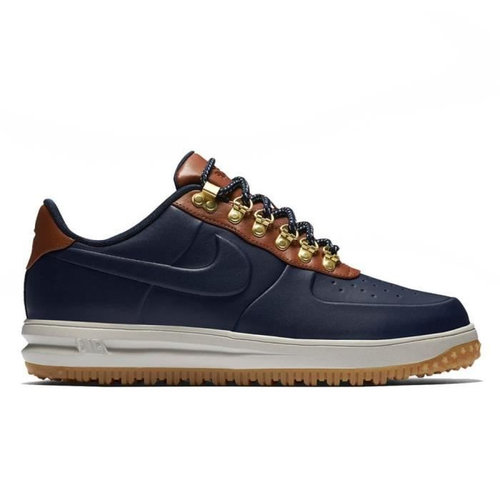 new style 373c5 67727 Chaussures Nike Lunar Force 1 Duckboot Low Obsidian AA1125 400