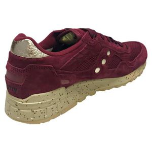 sports shoes c3088 660d6 ... BASKET Saucony Shadow 5000 Homme Baskets Maroon Gold ...