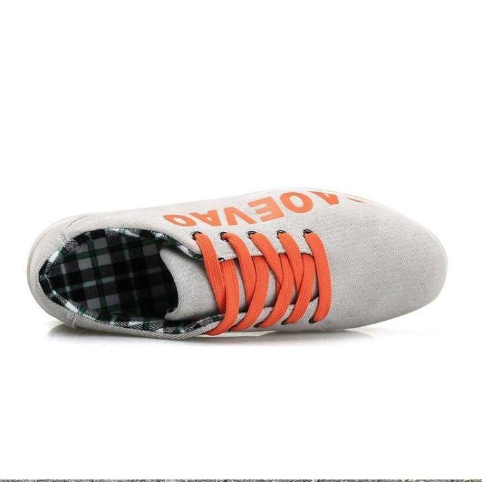 Maintien S668 43 Flexibilité On gris Respirabilité Et Homme R00188376 Compensé LéGer Slip Mode Basket Casual 75q6gZxqw