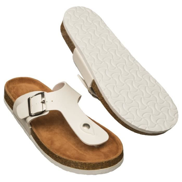 Sandales blanches OSE - Blanc uXMWzoQ